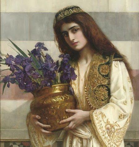 Ormonde Jayne: kolekcija La Route de la Soie (2020) Herbert Gustave Schmalz Flowers of the Levant 1900 e1591961106784