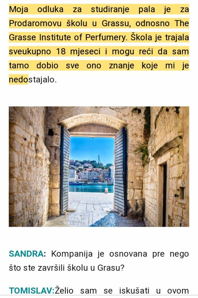 Scent of a Scam - Tomislav Vrbanec, the perfumer Screenshot 20200817 120209 01