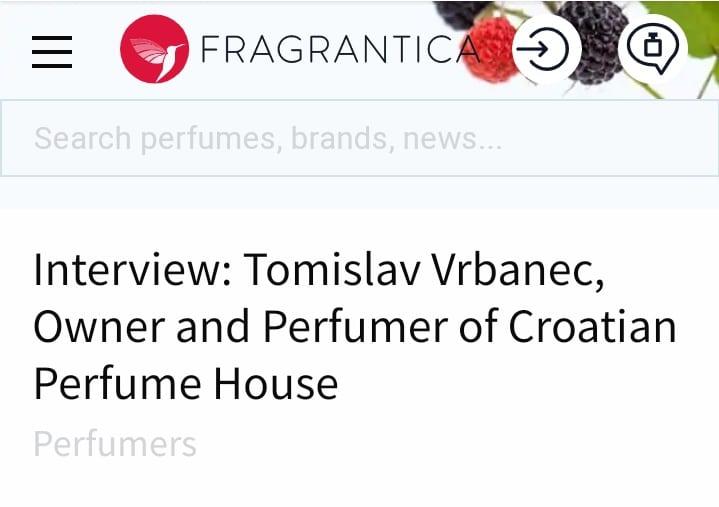 Scent of a Scam - Tomislav Vrbanec, the perfumer Screenshot 20200817 184832 01