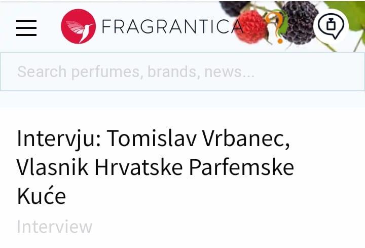 Scent of a Scam - Tomislav Vrbanec, the perfumer Screenshot 20200817 184850 01