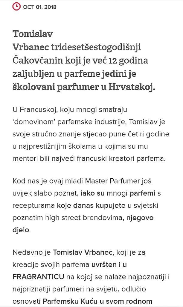 Scent of a Scam - Tomislav Vrbanec, the perfumer Screenshot 20200826 143518 01