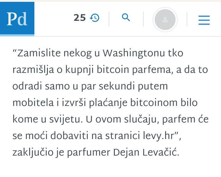 Bitcoin parfem Levy Perfumes - potresno i podzemno Screenshot 20210122 160653 01