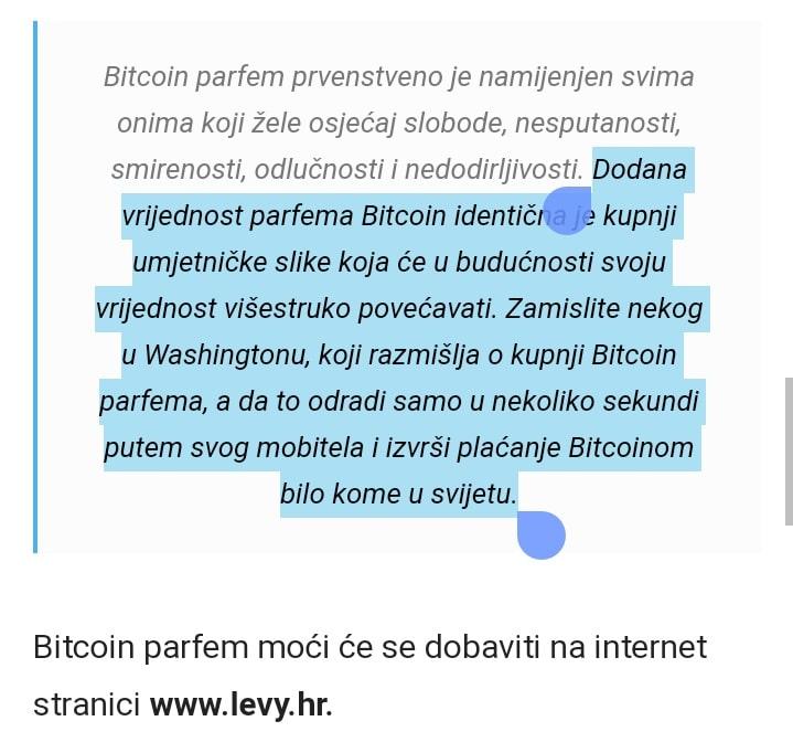 Bitcoin parfem Levy Perfumes - potresno i podzemno Screenshot 20210124 142350 01
