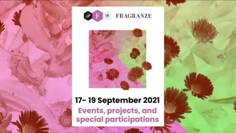 See you at Pitti Fragranze, 17. – 19. September 2021!